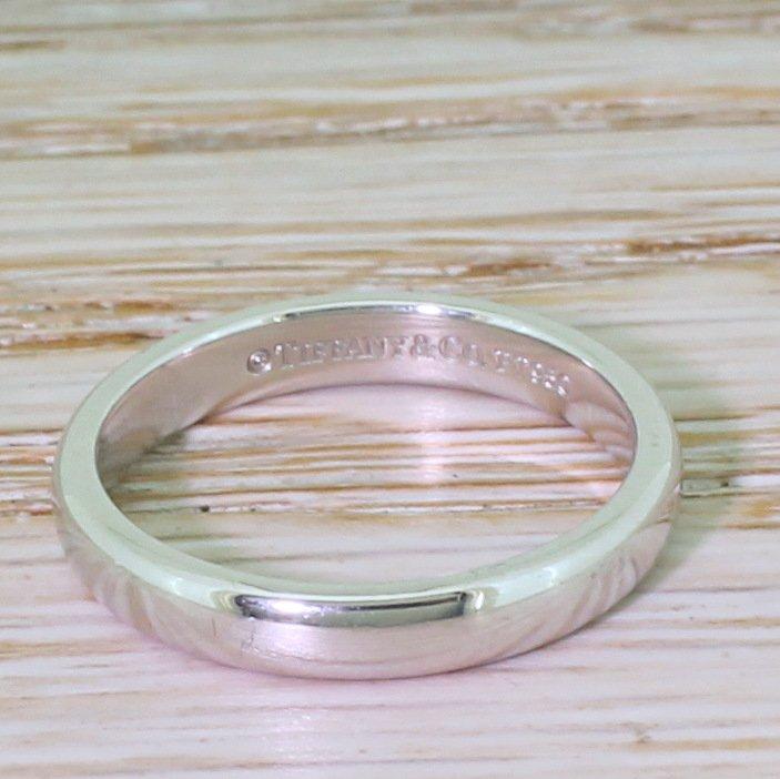 tiffany 038 co classic 3mm wedding band ring platinum