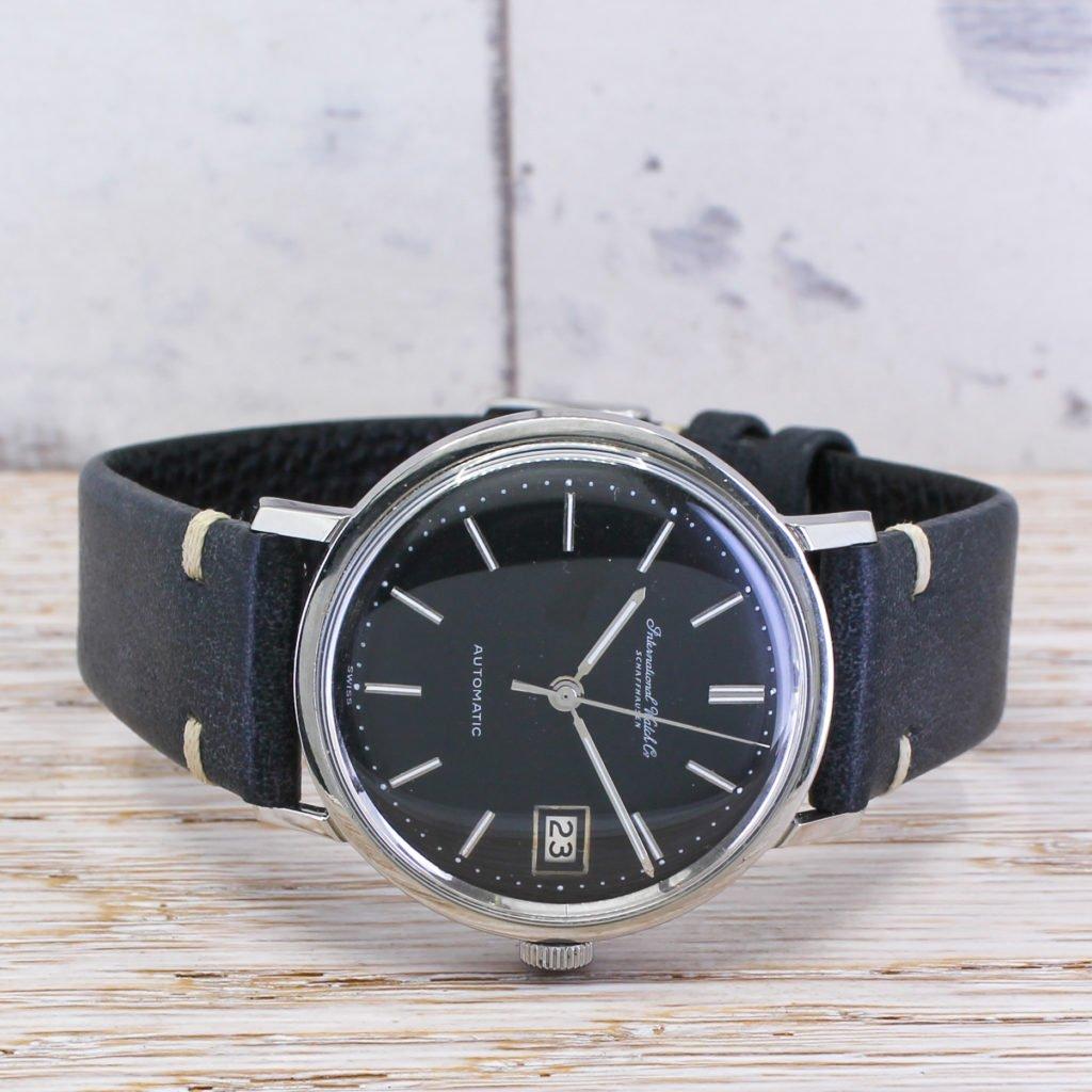 iwc vintage automatic dress watch circa 1960